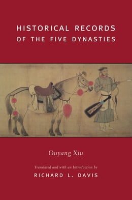 Book Historical Records of the Five Dynasties by Richard Davis