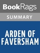 Arden of Faversham by Anonymous l Summary & Study Guide by BookRags