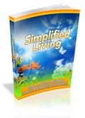 1230000262842 - Anonymous: Simplified Living - Buch