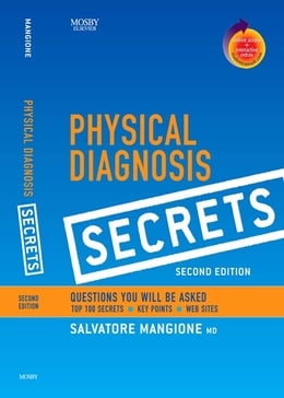 Book Physical Diagnosis Secrets: With STUDENT CONSULT Online Access by Salvatore Mangione