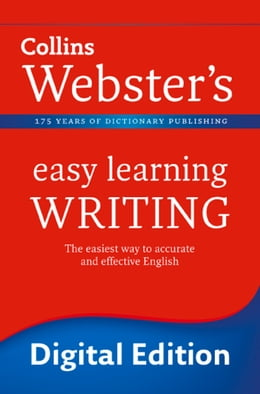 Book Writing (Collins Webster's Easy Learning) by Collins