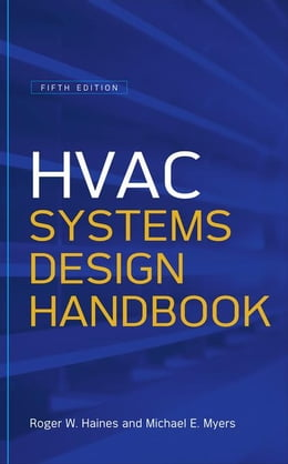 Book HVAC Systems Design Handbook, Fifth Edition by Haines, Roger