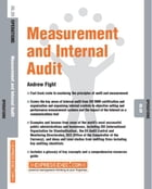 Measurement and Internal Audit: Operations 06.09