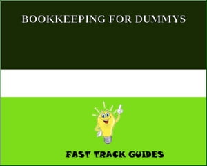 BOOKKEEPING FOR DUMMYS by Alexey