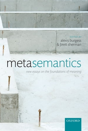 Metasemantics New Essays on the Foundations of Meaning