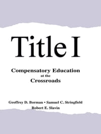 Title I: Compensatory Education at the Crossroads