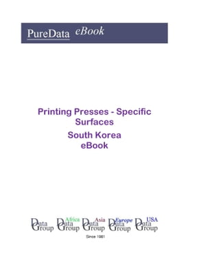 Printing Presses - Specific Surfaces in South Korea
