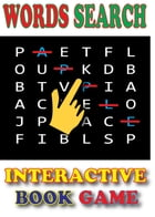 Words Search Interactive Book Game. by K&J Book Games Publishing