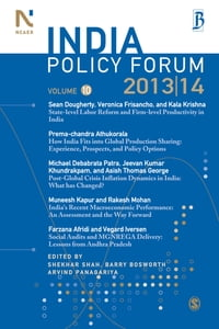 India Policy Forum 2013-14: Volume 10