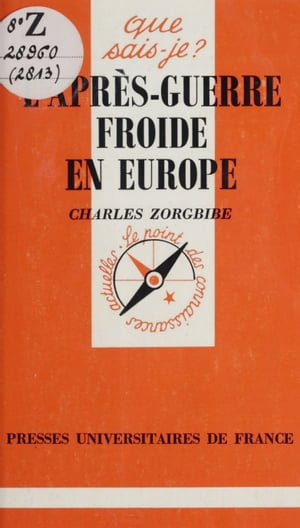 L'après-guerre froide en Europe by Charles Zorgbibe