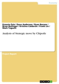 Analysis of Strategic move by Chipotle