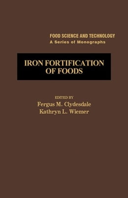 Book Iron Fortification of Foods by Clydesdale, Fergus