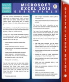 Microsoft Excel 2013 Essentials (Speedy Study Guides) by Speedy Publishing