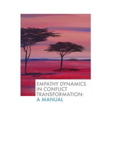 Empathy Dynamics in Conflict Transformation: A Manual