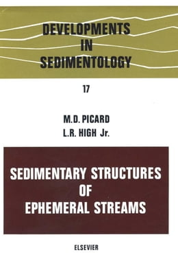 Book Sedimentary structures of ephemeral streams by Unknown, Author