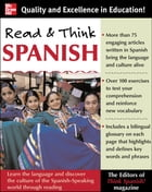 Read And Think Spanish (Book) : The Editors of Think Spanish Magazine: The Editors of Think Spanish Magazine by Ed's of Think Spanish