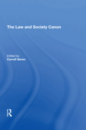 The Law and Society Canon
