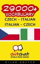 29000+ Vocabulary Czech - Italian