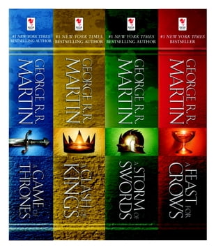 A Game of Thrones 4-Book Bundle: A Song of Ice and Fire Series: A Game of Thrones, A Clash of Kings, A Storm of Swords, and A Feast f