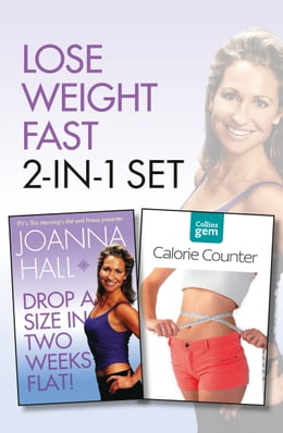 Book Drop a Size in Two Weeks Flat! plus Collins GEM Calorie Counter Set by Joanna Hall