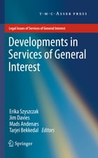 Developments in Services of General Interest