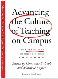 Advancing the Culture of Teaching on Campus: How a Teaching Center Can Make a Difference