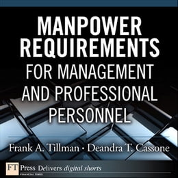 Book Manpower Requirements for Management and Professional Personnel by Frank A. Tillman