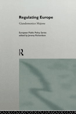 Book Regulating Europe by Majone, Giandomenico