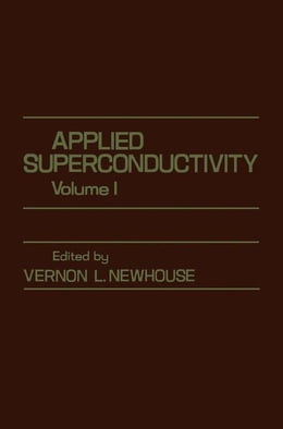 Book Applied superconductivity by Newhouse, Vernon
