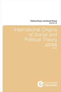 International Origins of Social and Political Theory