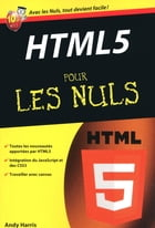 HTML 5 Poche Pour les nuls by Andy HARRIS