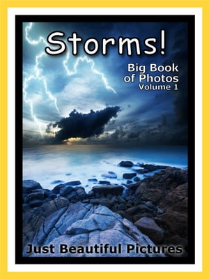 Just Storm Photos! Big Book of Photographs & Pictures of Storms,  Vol. 1