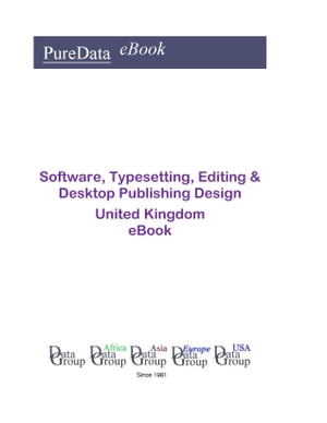 Software, Typesetting, Editing & Desktop Publishing Design in the United Kingdom