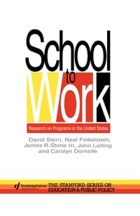School To Work: Research On Programs In The United States