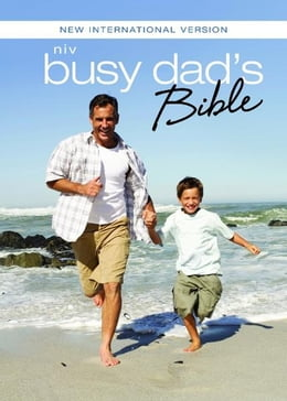 Book NIV Busy Dad's Bible: Daily Inspiration Even If You Only Have One Minute by Christopher D. Hudson