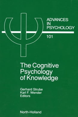 Book The Cognitive Psychology of Knowledge by Strube, G.