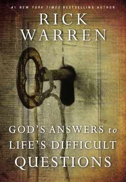 Book God's Answers to Life's Difficult Questions by Rick Warren