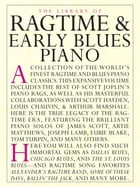 The Library of Ragtime & Early Blues Piano by Amsco Publications