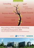 Proceedings of the European Workshop on Software Ecosystems 2015 by Karl Michael Popp