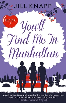 Book You'll Find Me in Manhattan by Jill Knapp