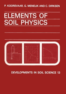 Book Elements of Soil Physics by Koorevaar, P.