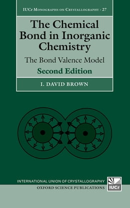 Book The Chemical Bond in Inorganic Chemistry by I. David Brown
