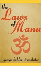 The laws of Manu by Georg Bühler
