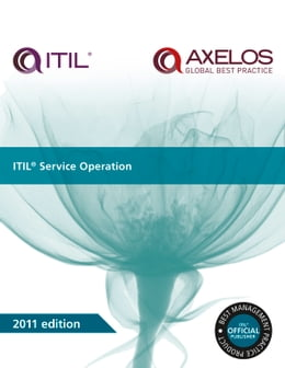 Book ITIL Service Operation by AXELOS