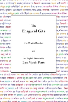 Book The Bhagavad Gita by Lars Martin Fosse