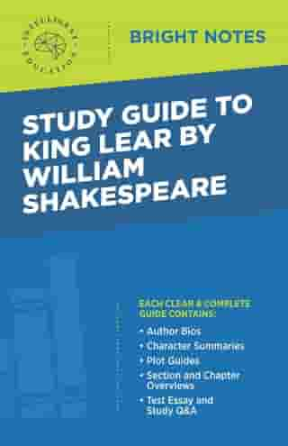 Study Guide to King Lear by William Shakespeare