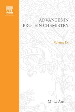 Book Advances in Protein Chemistry by Anson, M. L.