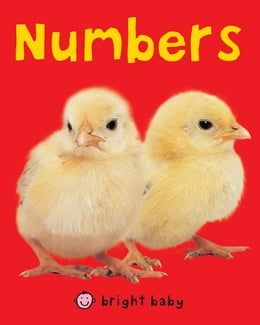 Book Bright Baby Numbers by Roger Priddy