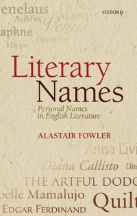 Literary Names: Personal Names in English Literature