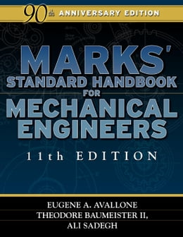 Book Marks' Standard Handbook for Mechanical Engineers by Avallone, Eugene